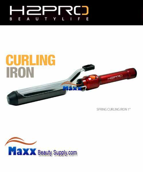 H2pro Professional Spring Curling Iron 1 89 99
