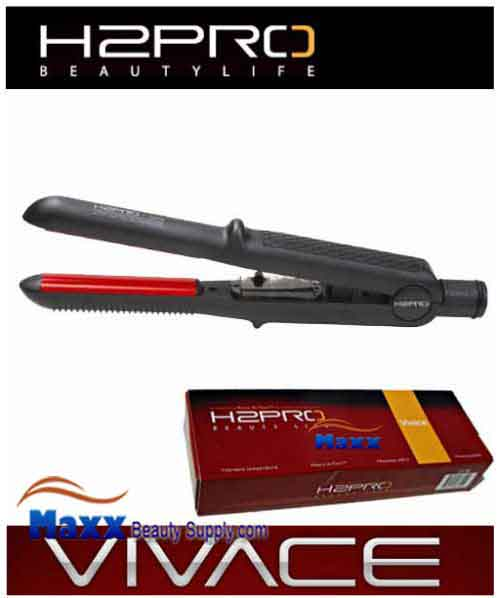 H2Pro Vivace Ceramic Styling Flat Iron Domed - 7/10""
