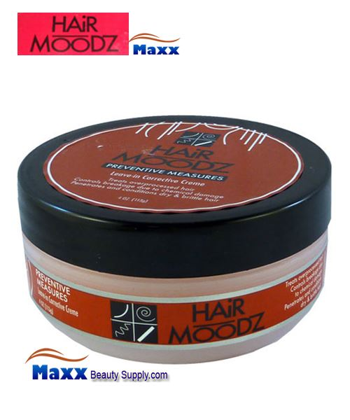 Hair Moodz Preventive Measures Leave In Corrective Creme 4oz