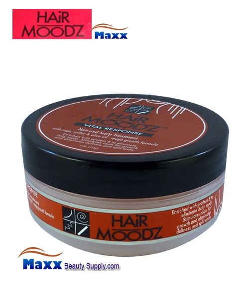Hair Moodz Vital Response Hair and Scalp Conditioner 4oz