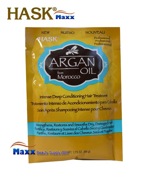 Hask Argan Oil Deep Conditioning Treatment 1.75 oz - 1pack