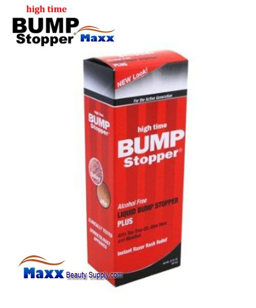 High Time Liquid Bump Stopper Plus Instant Razor Rash Relief 2oz