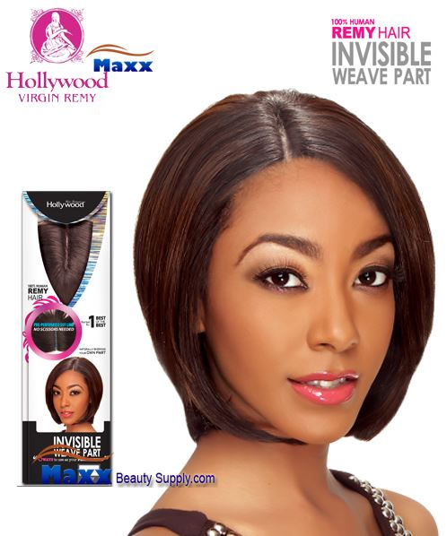 Hollywood Remy Invisible Weave INVISIBLE WEAVE PART CLOSURE 9""