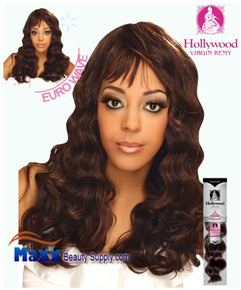 Hollywood Virgin Remy Human Hair Weaving - Euro Wave