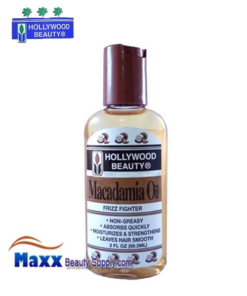 Hollywood Beauty Macadamia Oil Frizz Fighter 2oz