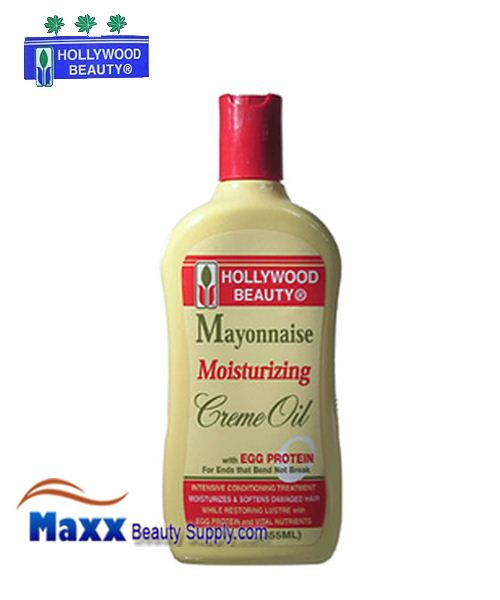 Hollywood Beauty Mayonnaise Moisturizing Creme Oil with Egg Protein 12oz
