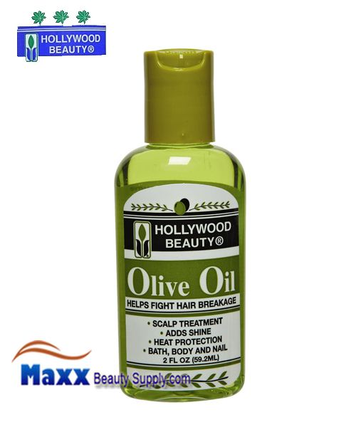 Hollywood Beauty Olive Oil Fight hair Breakage 2oz