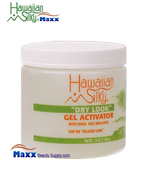 Hawaiian Silky Dry Look Gel Activator 16oz - Jar