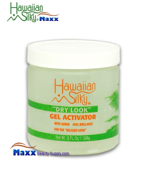 Hawaiian Silky Dry Look Gel Activator 08oz - Jar