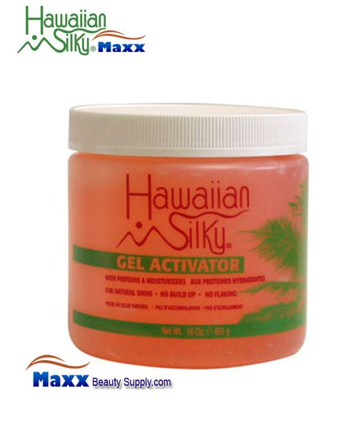Hawaiian Silky Gel Activator 16oz - Jar
