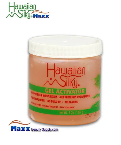 Hawaiian Silky Gel Activator 08oz - Jar