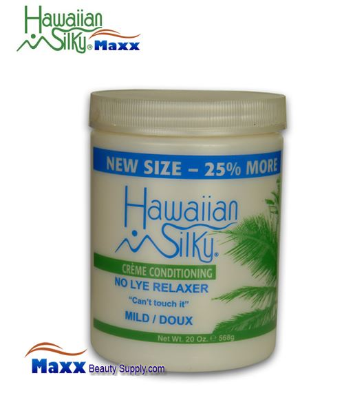 Hawaiian Silky No Lye Creme Conditioning Relaxer 20oz - Mild