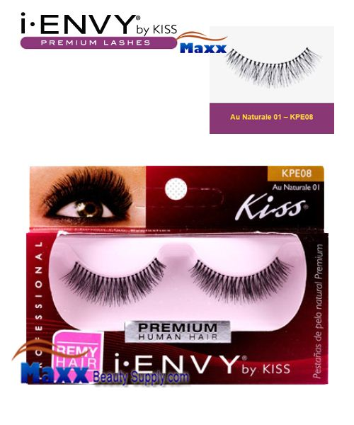 Kiss i Envy Au Naturale 01 Eyelashes - KPE08
