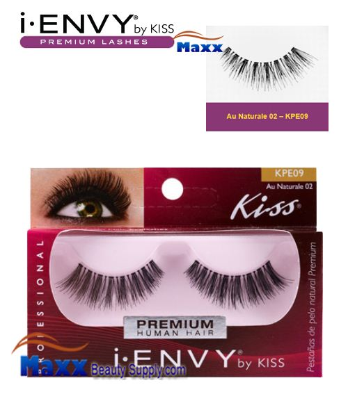 Kiss i Envy Au Naturale 02 Eyelashes - KPE09