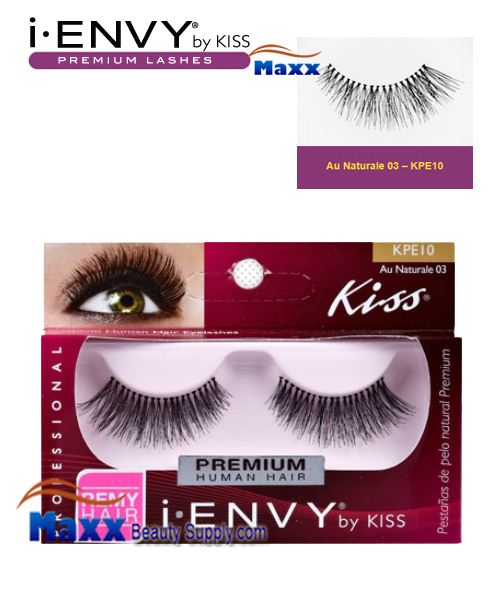 Kiss i Envy Au Naturale 03 Eyelashes - KPE10