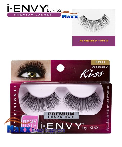 Kiss i Envy Au Naturale 04 Eyelashes - KPE11
