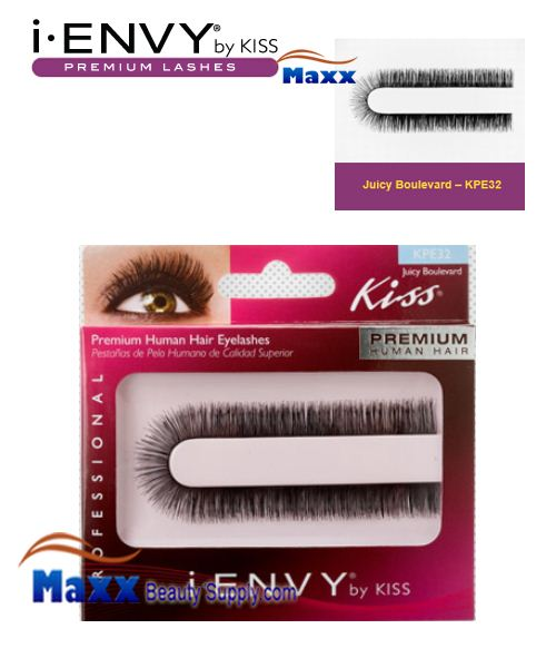 Kiss i Envy Custom Cut Eyelashes - KPE32 - Juicy Boulevard