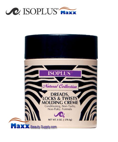 Isoplus Natural Collection Dreads Locks & Twists Molding Creme 6oz - Jar