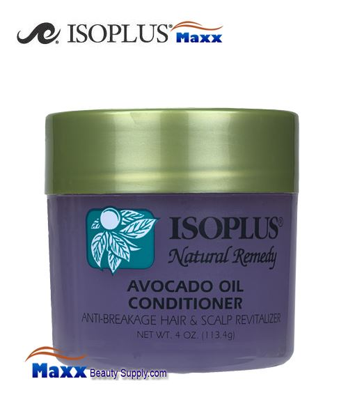 Isoplus Natural Remedy Avocado Oil Conditioner 4oz - Jar