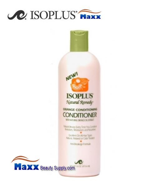 Isoplus Natural Remedy Orange Conditioning Conditioner 16oz - Bottle