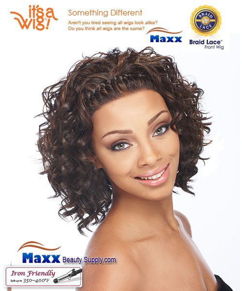It's a Wig Synthetic Hair Braid Lace Front Wig - Candi