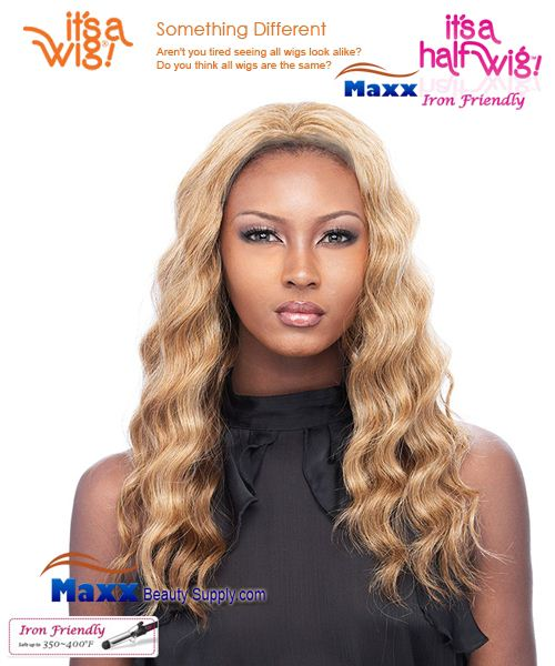 It's a Wig Synthetic Hair Half Wig Iron Friendly - HW Jasmine