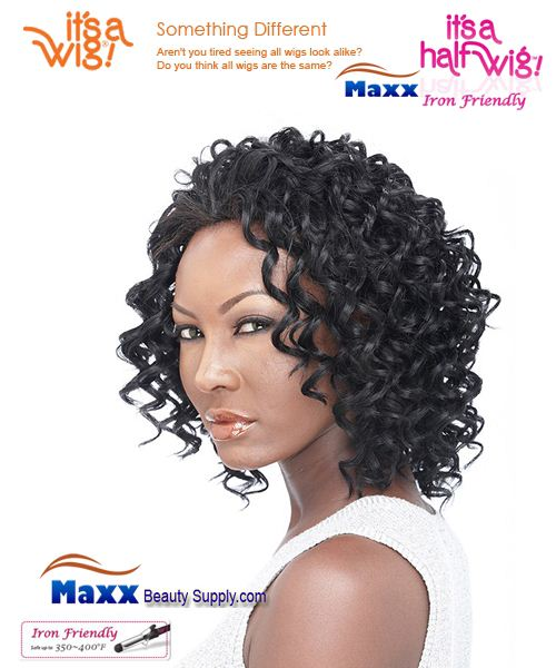 It's a Wig Synthetic Hair Half Wig Iron Friendly - HW Jessica