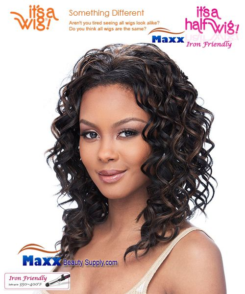 It's a Wig Synthetic Hair Half Wig Iron Friendly - HW Paula
