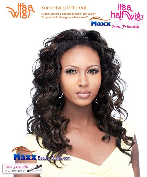 It's a Wig Synthetic Hair Half Wig Iron Friendly - HW Penny