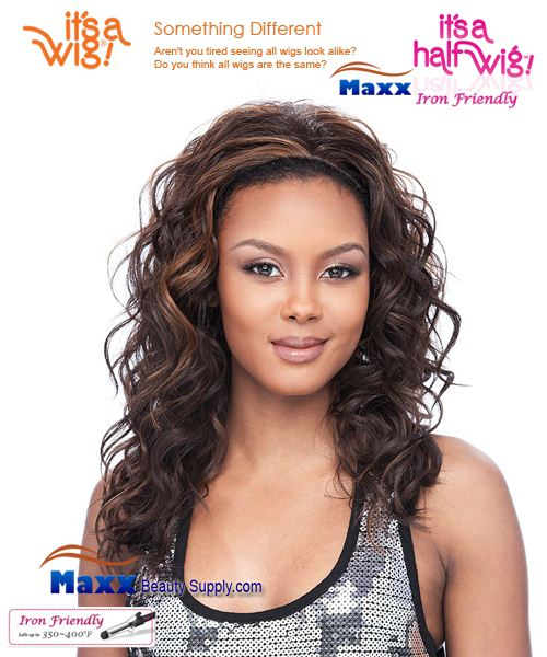 It's a Wig Synthetic Hair Half Wig Iron Friendly - HW Regina