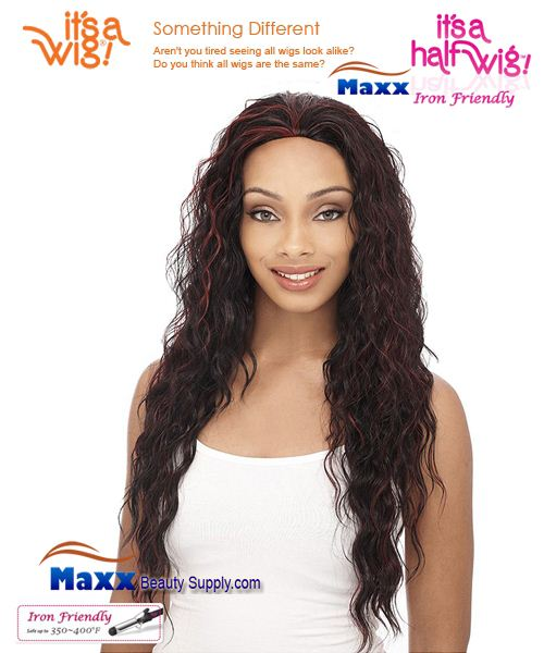 It's a Wig Synthetic Hair Half Wig Iron Friendly - HW Runaway