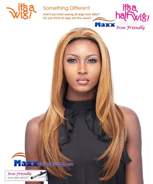 It's a Wig Synthetic Hair Half Wig Iron Friendly - HW Xena
