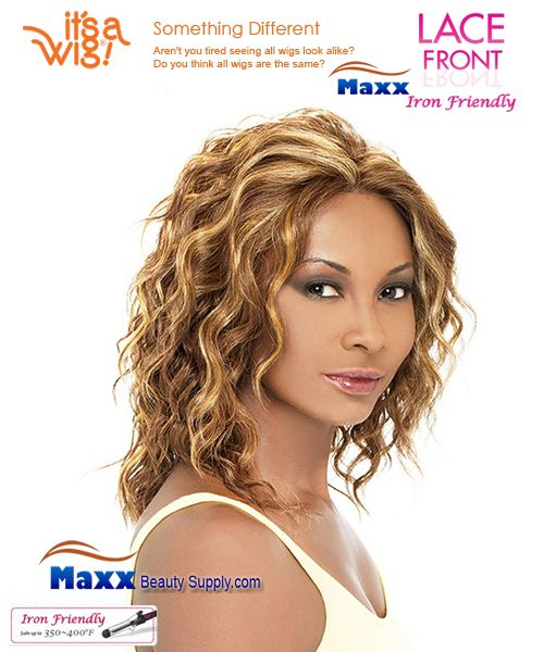It's a Wig Synthetic Hair Lace Front Wig - Ashley