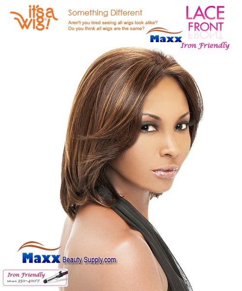 It's a Wig Synthetic Hair Lace Front Wig - Monica