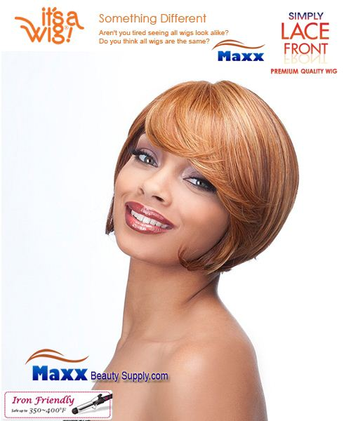 It's a Wig Synthetic Hair Simply Lace Front Wig - Sycamore