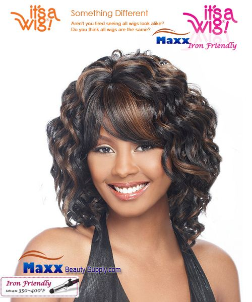 It's a Wig Synthetic Wig Iron Friendly - May