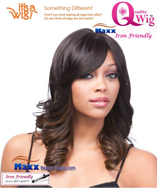 It's a Wig Synthetic Wig Iron Friendly - Q-Abella
