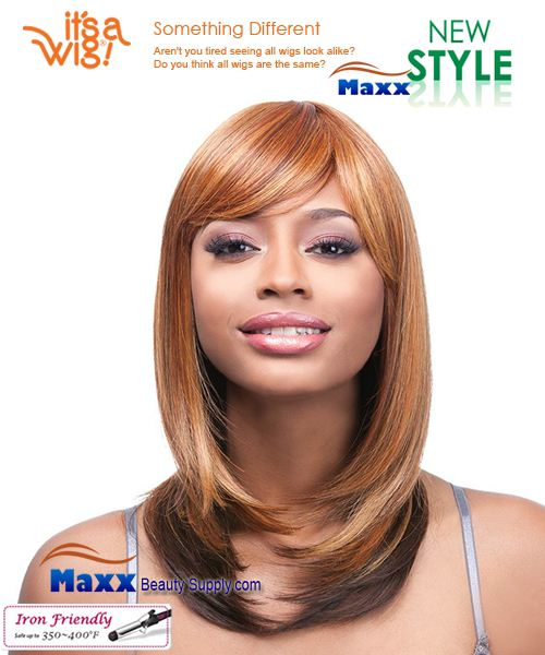 It's a Wig Synthetic Wig Iron Friendly - Q-Alice