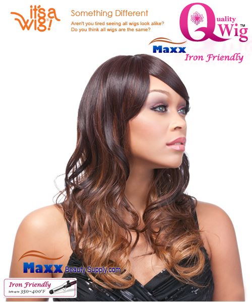 It's a Wig Synthetic Wig Iron Friendly - Q-Clementine