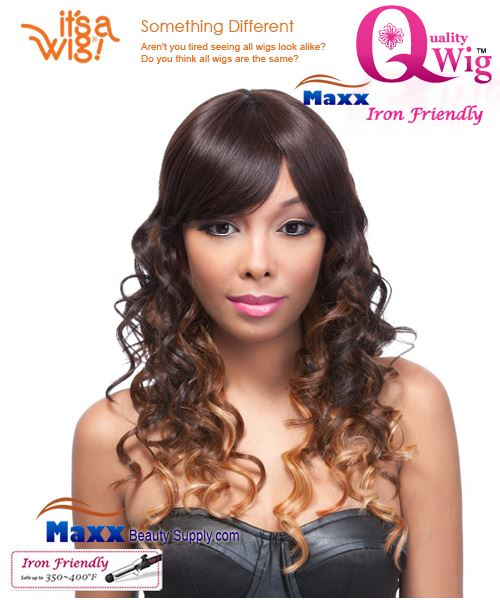 It's a Wig Synthetic Wig Iron Friendly - Q-Crescent