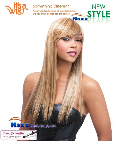 It's a Wig Synthetic Wig Iron Friendly - Q-Kimberly