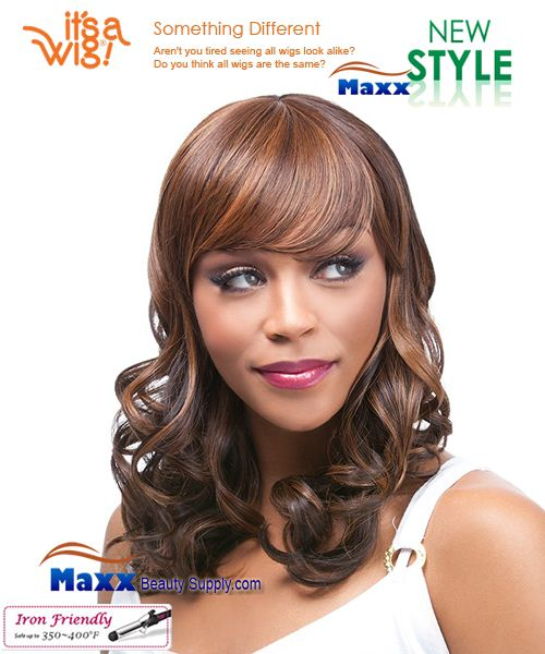 It's a Wig Synthetic Wig Iron Friendly - Q-Margaret