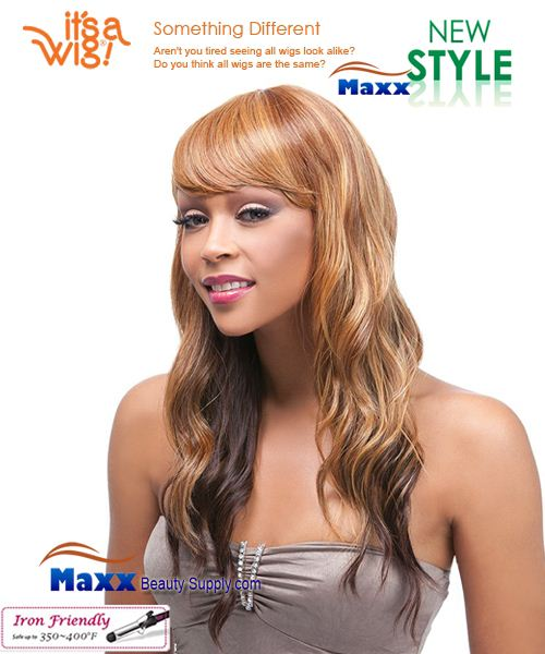 It's a Wig Synthetic Wig Iron Friendly - Q-Silvia