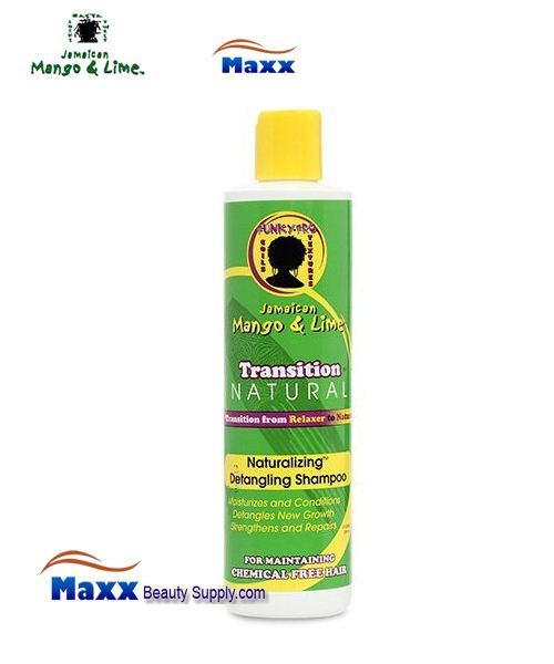 Jamaican Mango & Lime Transition Natural Naturalizing Detangling Shampoo 10oz
