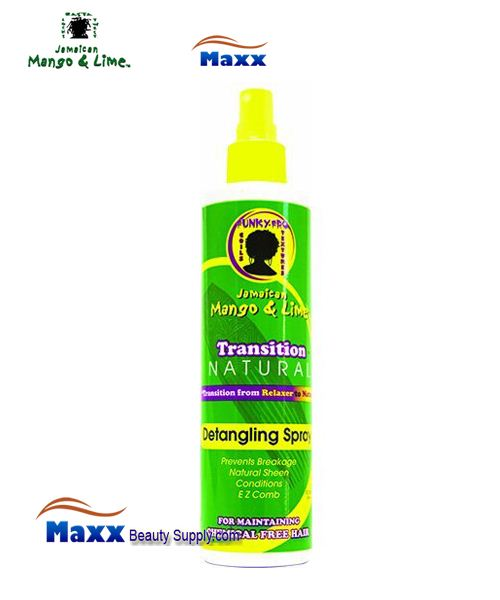 Jamaican Mango & Lime Transition Natural Detangling Spray 10oz