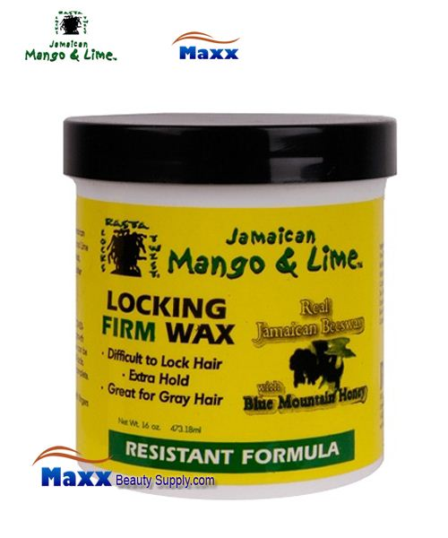 Jamaican Mango & Lime Locking Firm Wax 16OZ - Resistant Formula