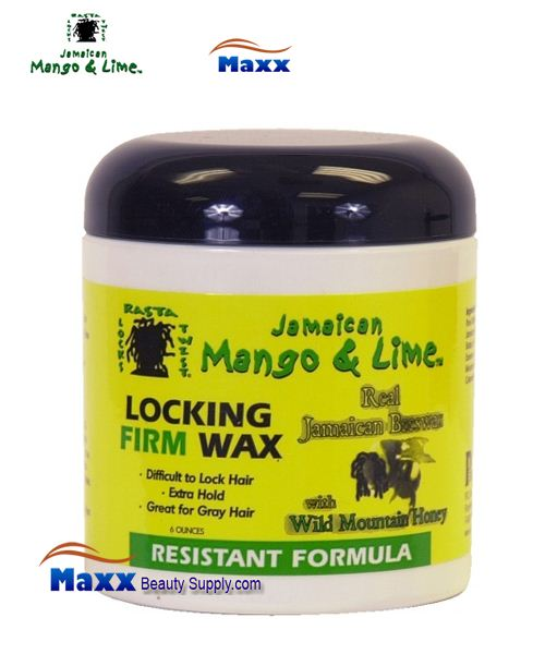 Jamaican Mango & Lime Locking Firm Wax 6OZ - Resistant Formula