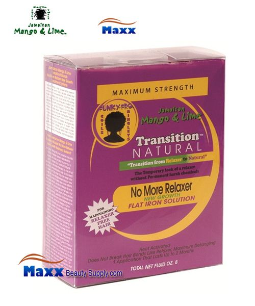 Jamaican Mango & Lime Transition No More Relaxer Growth Kit - Maximum Strength
