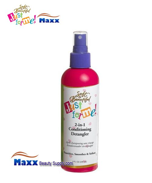 Soft & Beautiful Just for Me Kids 2-in-1 Conditioning Detangler 8oz