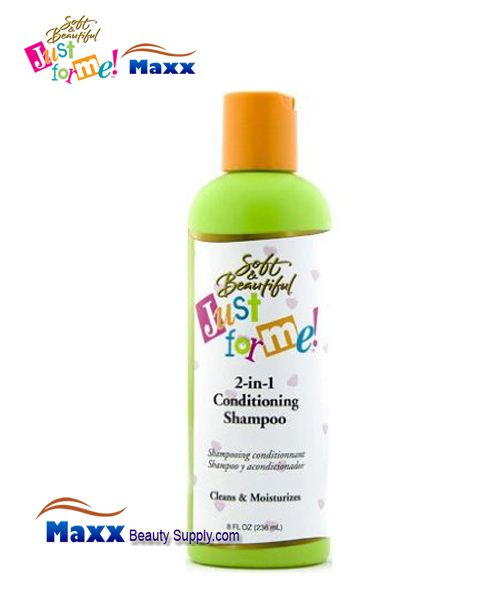 Soft & Beautiful Just for Me Kids 2-in-1 Conditioning Shampoo 8oz